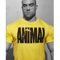 Tricou galben cu sigla Animal